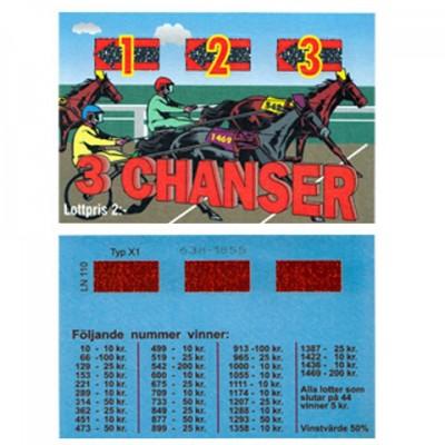 3 Chanser