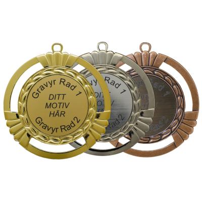 Medalj - Gävle - ø90mm