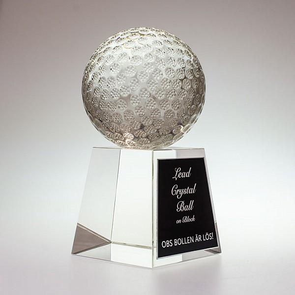 Lead Crystal Ball 190mm