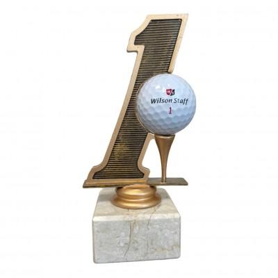 Golfstatyett Hole In One 160mm