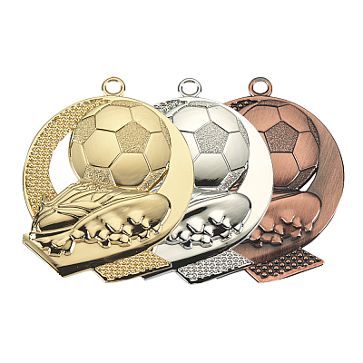 Medalj - Soccer City - ø43mm