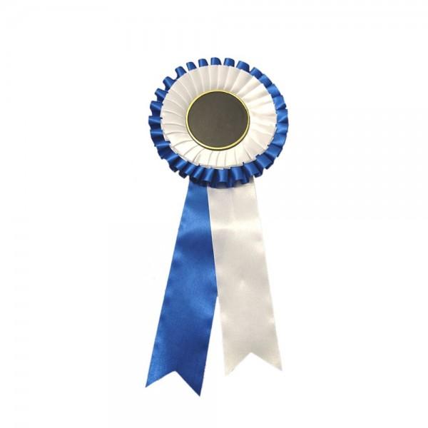 Prisrosett 2-Krans Blå/Vit