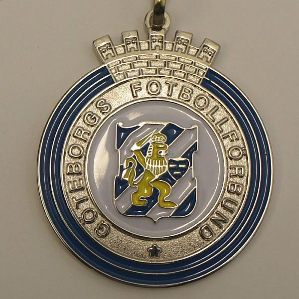Medaljer Göteborgs Fotbollförbund - Silver