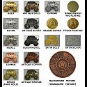 Metallplaketter med egen design