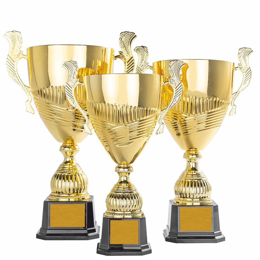 Exklusiv Stor Pokal I Guld