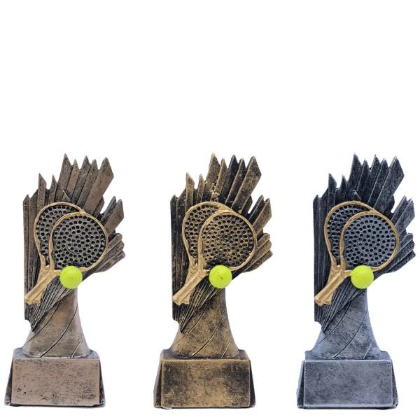 Statyett till padel i tre olika valörer